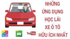 Học lái xe ô tô nhanh chóng với những ứng dụng cực hữu ích
