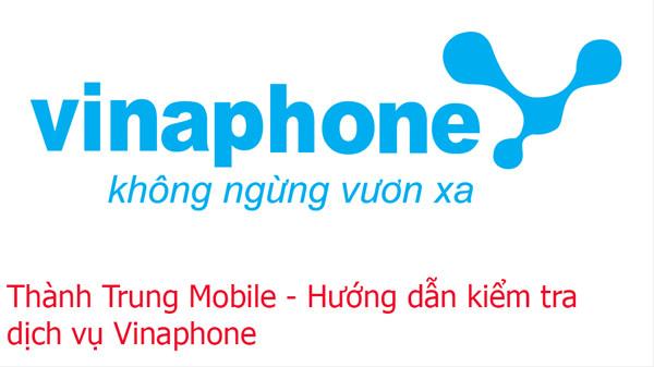 Hướng dẫn bạn cách kiểm tra dịch vụ Vinaphone