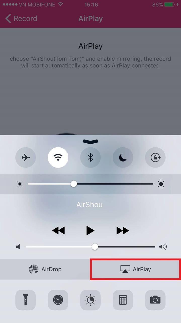 Cách quay màn hình iPhone 6 IOS 10-7