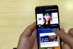 Thủ thuật chia đôi màn hình Samsung A7 2018