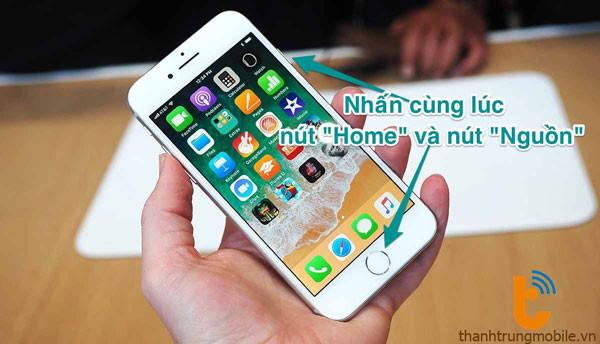 Bật mí cách tự chụp màn hình iPhone 6, 6s, 6 Plus