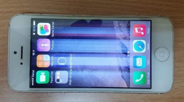 Cách xử lý màn hình iPhone 6, 6 Plus bị mờ