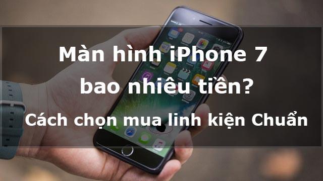 Màn hình iPhone 7 bao nhiêu tiền? Có những loại màn hình iPhone 7 nào?