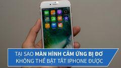 Mách bạn cách xử lý màn hình iPhone 7 bị đơ