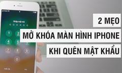 Phá, bẻ, mở khóa màn hình iPhone 6 Plus khi quên passcode