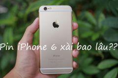 Pin iPhone 6 xài được bao lâu