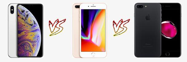 So sánh màn hình iPhone 7 Plus với các dòng máy khác