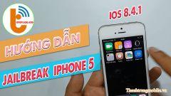 Hướng Dẫn Jailbreak iOS 8.4.1 trên iPhone 5