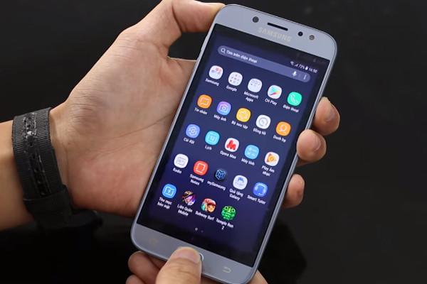 2 cách chụp màn hình Samsung J7 pro dễ dàng