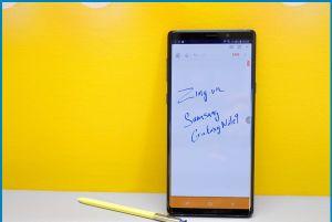 Chụp màn hình Samsung Note 9