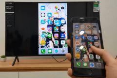 Cách kết nối điện thoại iPhone với tivi Sony, Samsung qua Wifi