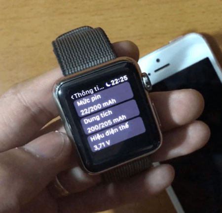Hướng dẫn cách kiểm tra pin Apple Watch