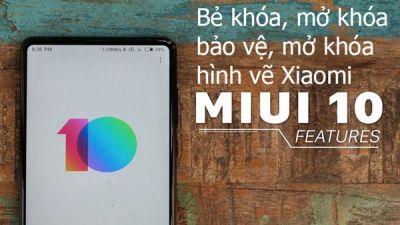 Mở khóa bảo vệ, mở khóa hình vẽ Xiaomi