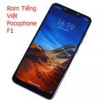 Rom tiếng việt, cài CH Play Xiaomi Pocophone F1