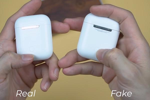 Cách kiểm tra tai nghe Airpods chính hãng - Cảnh giác với Airpods Fake