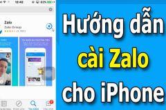 Hướng dẫn cách cài đặt Zalo trên điện thoại iPhone 6