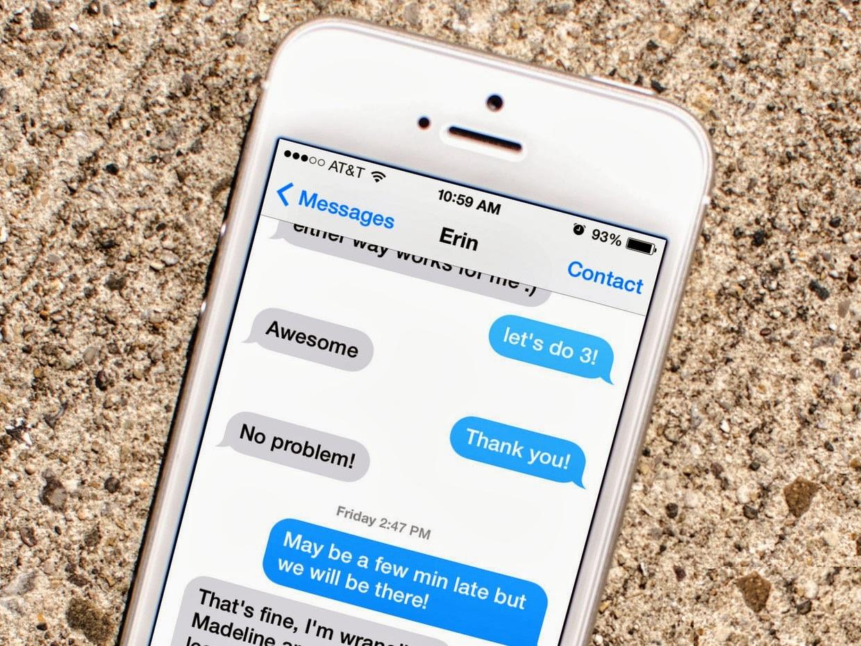 Hướng dẫn cách fix lỗi iPhone 7 Plus không gửi được tin nhắn