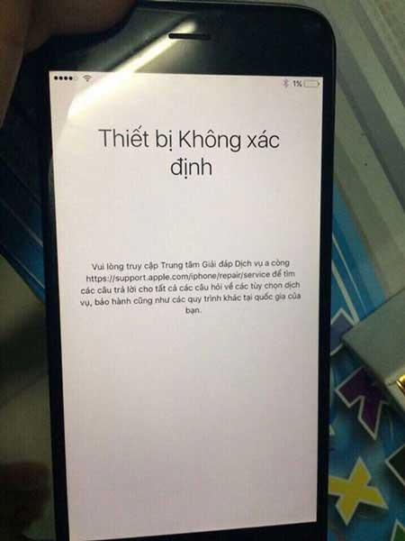 Thực hư câu chuyện iPhone Reset bỗng nhiên thành cục gạch?