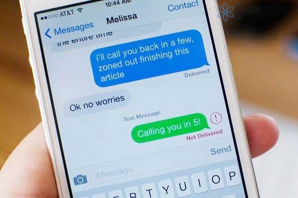 Cách sửa Iphone look khi không gửi được tin nhắn