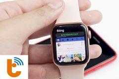 Cách lướt Facebook, Instagram trên đồng hồ Apple Watch