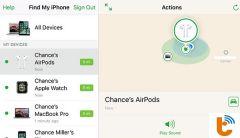 Hướng dẫn cách tìm Airpods bị mất với 2 cách