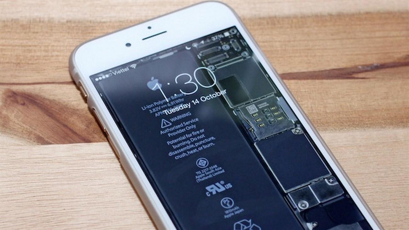 Bộ hình nền xuyên thấu iPhone
