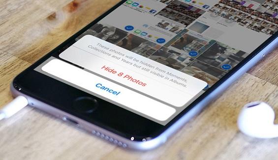 Hướng dẫn ẩn hình ảnh trên iPhone cực đơn giản