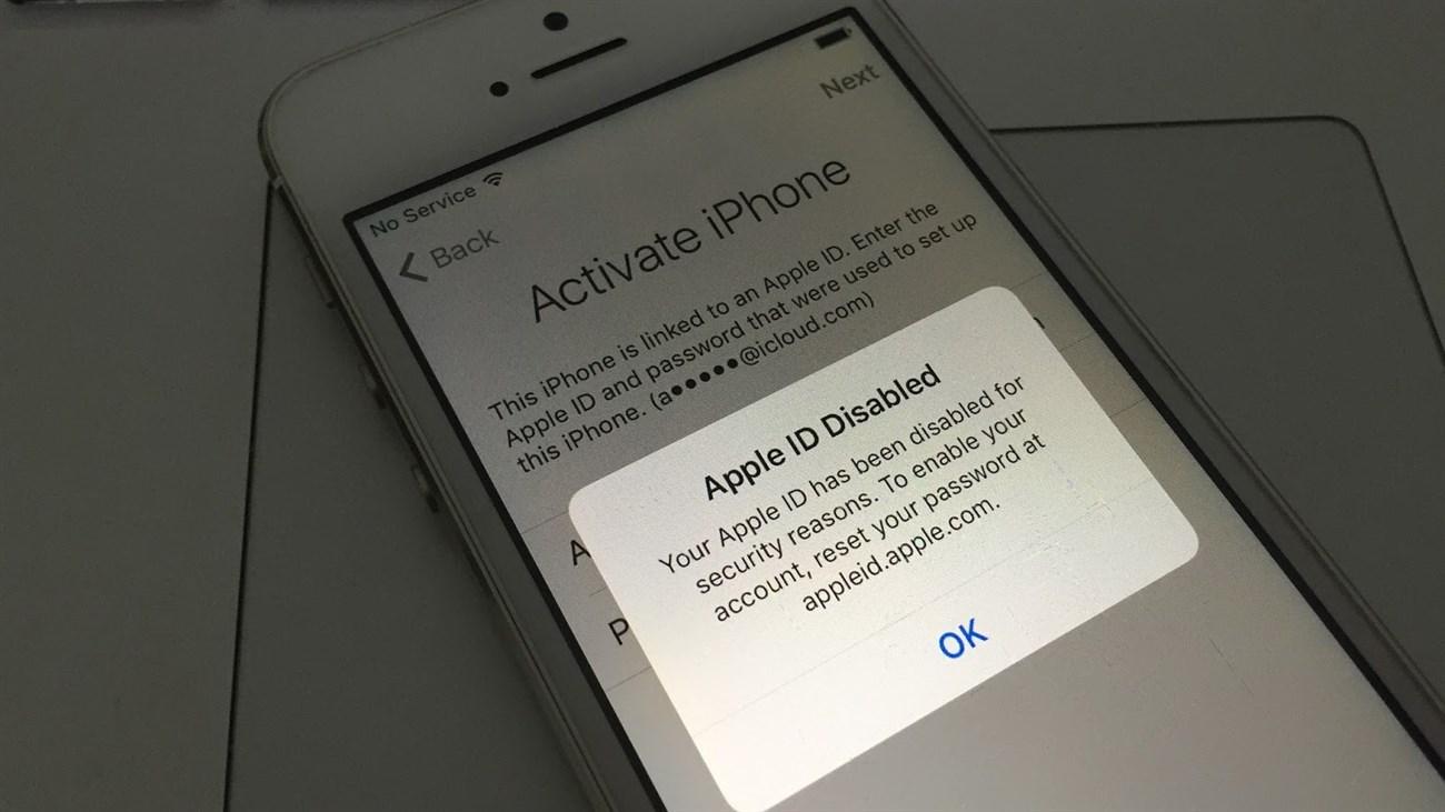 Cách để khôi phục tài khoản ID Iphone bị vô hiệu hóa dễ dàng