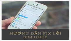 Hướng dẫn fix lỗi sim ghép VFSIM dành cho SIM 3G