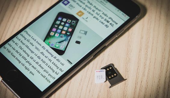 Đã xuất hiện iPhone Lock giả quốc tế trên thị trường nhờ sim ghép thần thánh