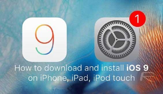 Chi tiết cách up iOS 9 cho máy đã jailbreak qua phần mềm iTunes