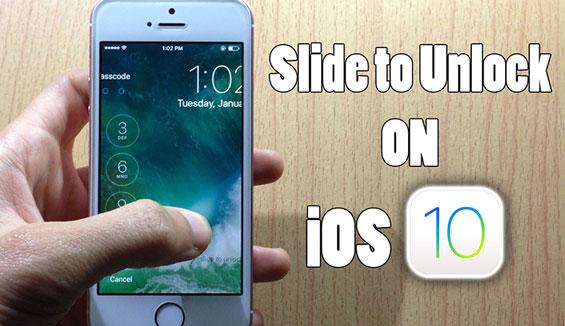 Có thể bạn chưa biết cách để Slide to Unlock trên iOS 10