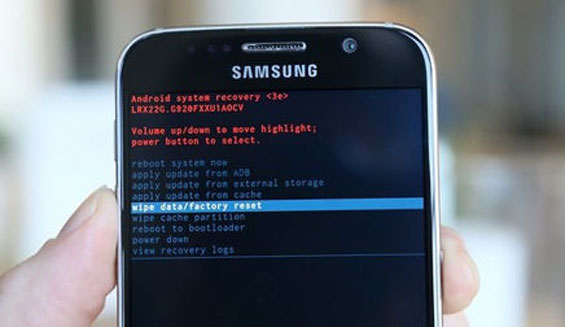 Cách khắc phục Samsung S7 edge bị treo máy hiệu quả