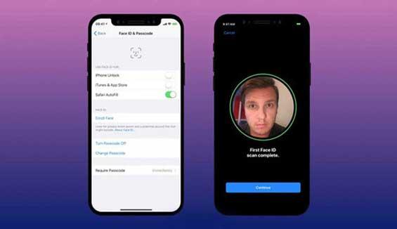 Hướng dẫn sử dụng Face ID tải ứng dụng trên iPhone X