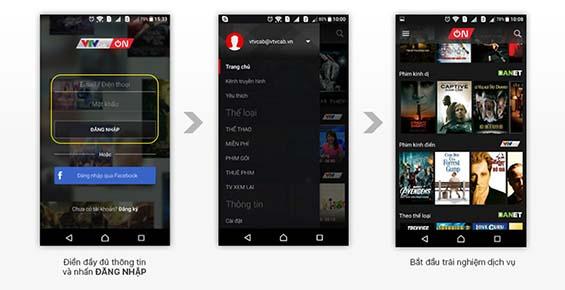 Tổng hợp 4 ứng dụng xem phim cho Android đã nhất