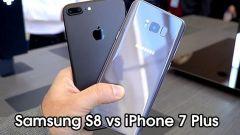 So sánh Samsung S8 và iPhone 7 Plus - Nên mua siêu phẩm nào?