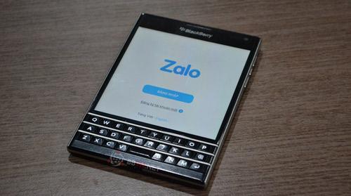 Phần mềm Zalo cho BlackBerry 10 Os- Kèm File APK (Luôn cập