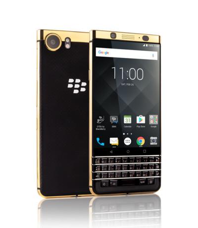 BlackBerry KEYone mạ vàng 24K (Gold)