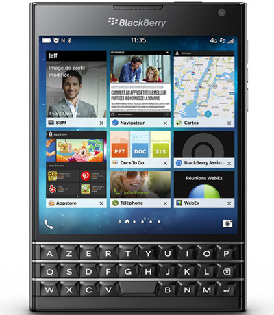 Sửa sóng BlackBerry Passport, Passport Silver Edition