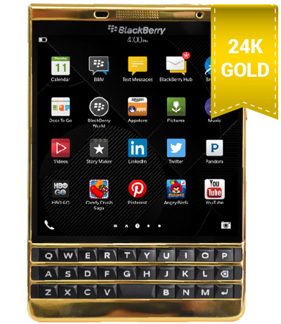 BlackBerry Passport Silver mạ vàng 24K