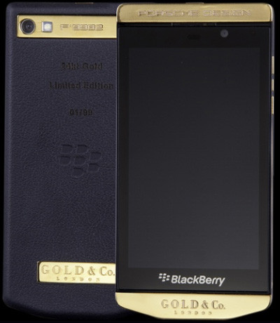 BlackBerry Porsche Design P'9982 Gold (Mạ vàng 24K)