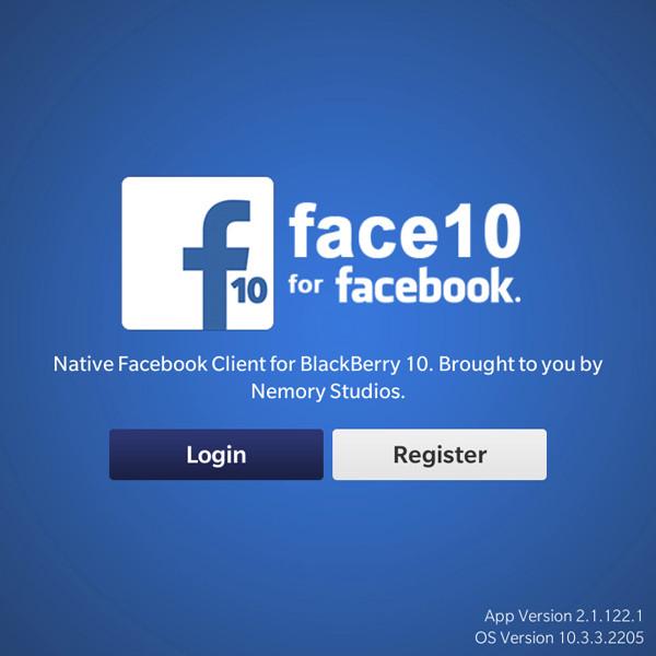 Tổng hợp ứng dụng FaceBook cho BlackBerry 10 Os (Q10, Z10