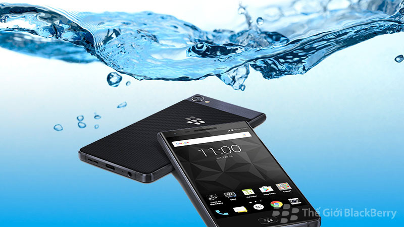 Blackberry motion có khả năng chống nước