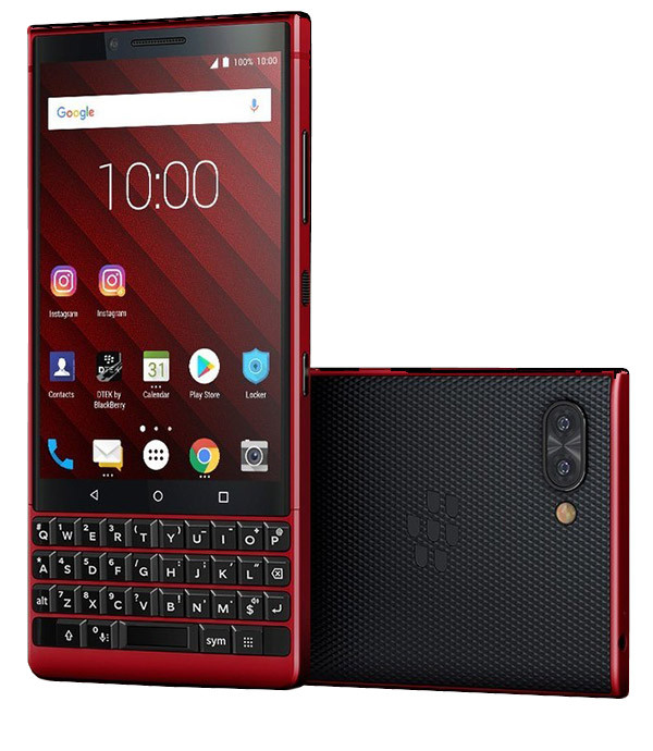 Blackberry key 2 red 128GB ( 2 sim )