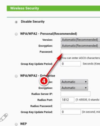 Nhập mật khẩu của bạn tại password