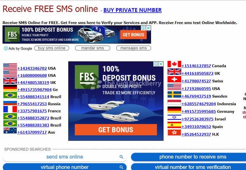 Hướng dẫn tạo số điện thoại ảo của VIệt Nam để kích hoạt SMS cực kì