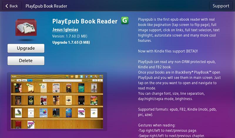 Tổng hợp những phần mềm và trò chơi cực hay cho playbook