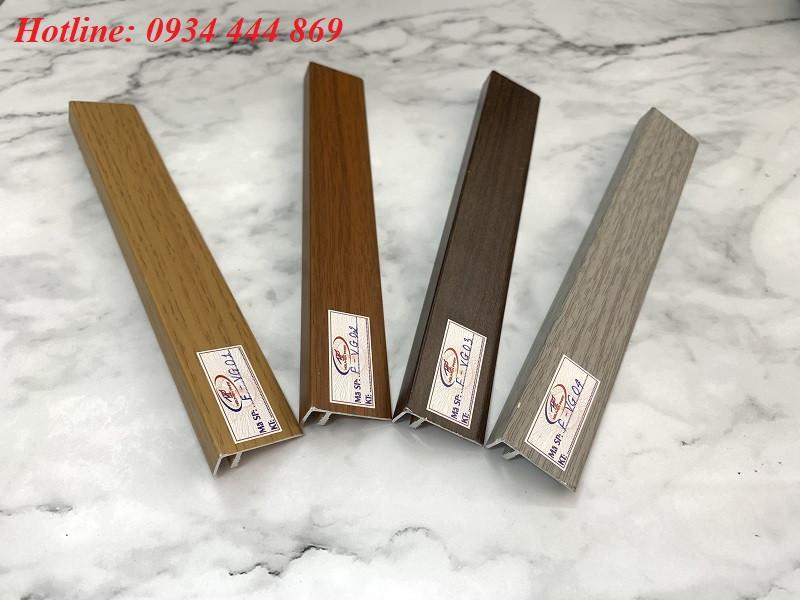 Nẹp sàn gỗ màu vân gỗ chữ F
