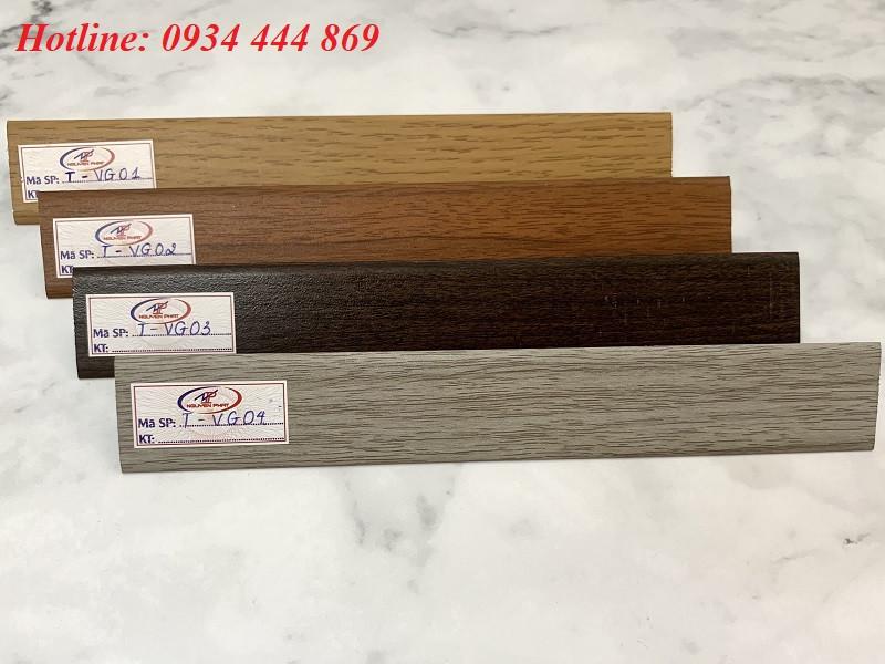 nẹp sàn gỗ màu vân gỗ