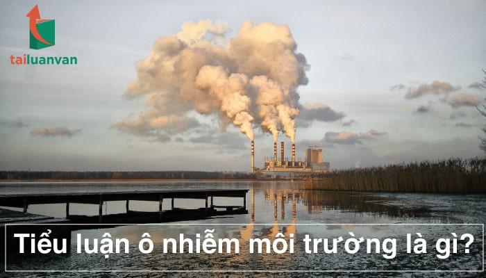 Tiểu luận ô nhiễm môi trường là gì?